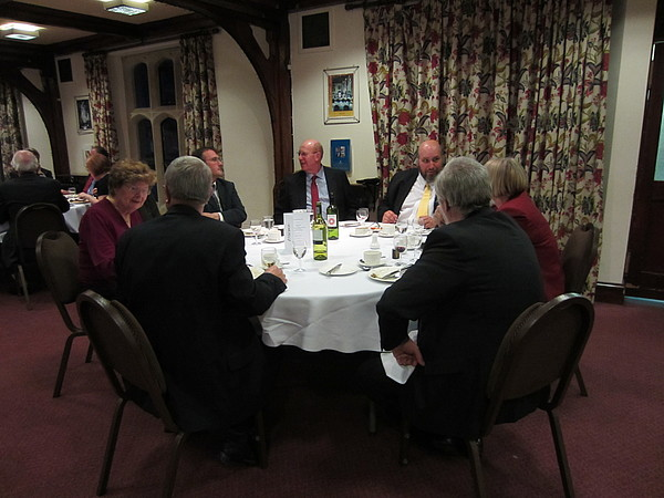 Cirencester Agricultural College, Dinner