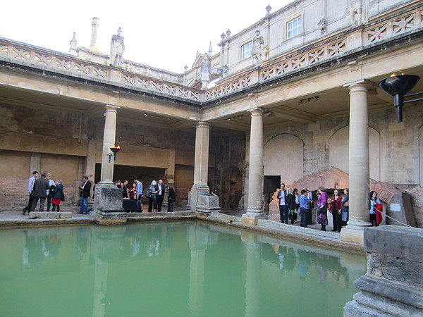 Beau Street Hoard Symposium - reception at the Roman Baths