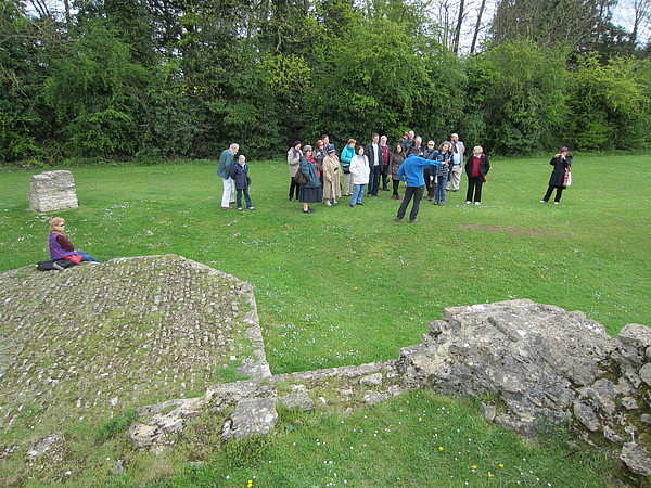 Cirencester Roman Wall (Bath & the Cotswolds trip 2012)