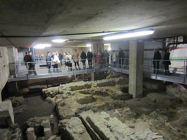 Explore Roman London - Billingsgate bath house