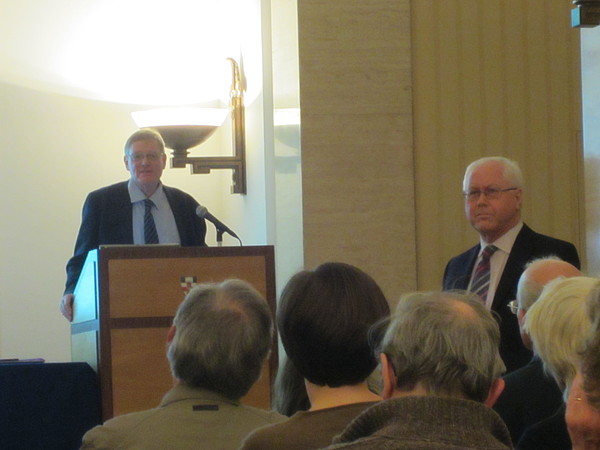 Joan Pye Lecture 2012 Roger Bland & Mike Fulford